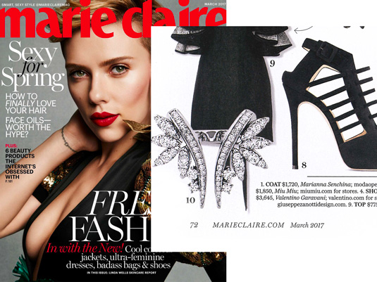 Marie Claire Magazine March 2017