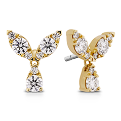 Aerial Petal Stud Earrings