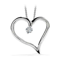 Amorous Heart Pendant Necklace