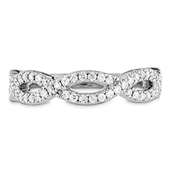 Destiny Twist Diamond Band