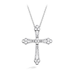 Effervescence Open Cross Pendant