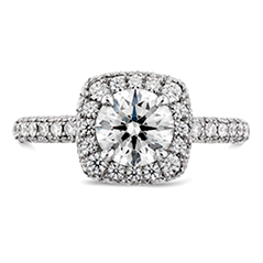 Euphoria Pave Engagement Ring