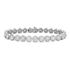 Fulfillment Diamond Line Bracelet