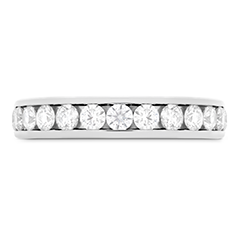 HOF Channel Diamond Eternity Band 2.85