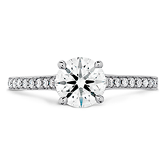Illustrious Engagement Ring-Diamond Intensive Band