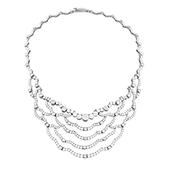 Lorelei Chandelier Diamond Necklace