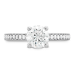 Simply Bridal Engagement Ring - Diamond Band