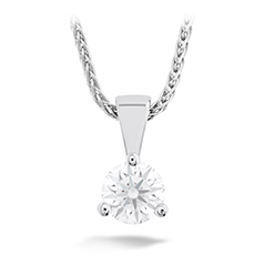 Solitaire Pendant - Three-Prong