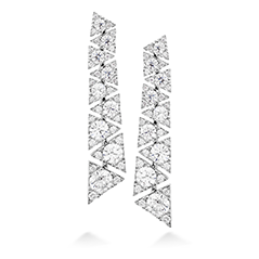 Triplicity Drop Earrings