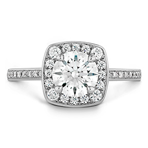 Euphoria Custom Halo Engagement Ring
