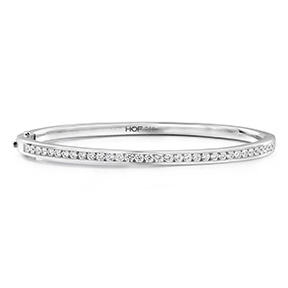 HOF Classic Channel Set Bangle - 210