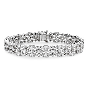 HOF Regal Triple Row Bracelet