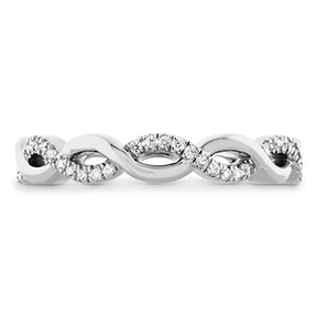 Destiny Lace Twist Eternity Band